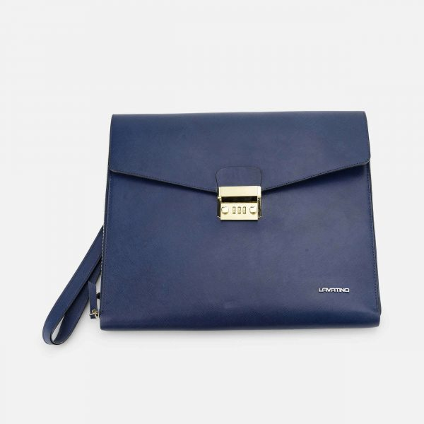 CLUTCH MACBOOK XANH NAVY-1