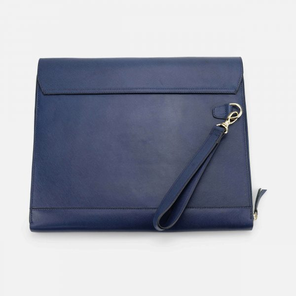 CLUTCH MACBOOK XANH NAVY-2