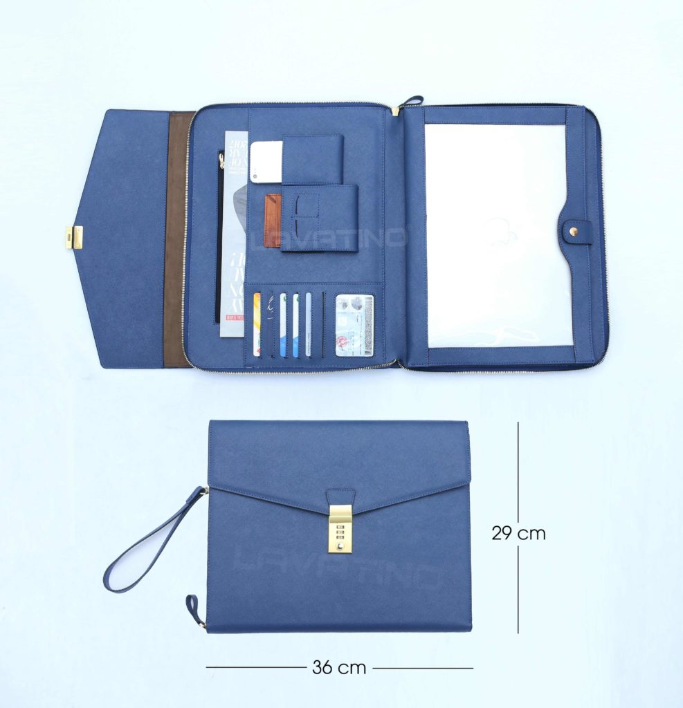 CLUTCH MACBOOK XANH NAVY-7